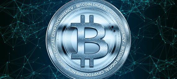 Piece d'un bitcoin